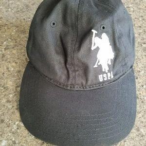 Black US  POLO ASSN CAP for men or women